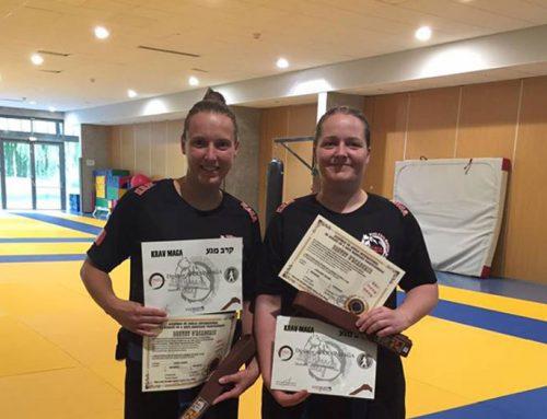Krav-maga kids 57 remise de diplôme d'instructeur.